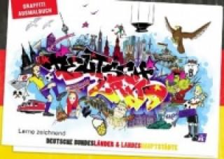 Graffiti Ausmalbuch