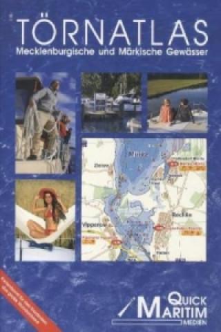 Carte Törnatlas Mecklenburgische und Märkische Gewässer