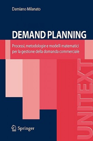 Kniha Demand Planning Damiano Milanato