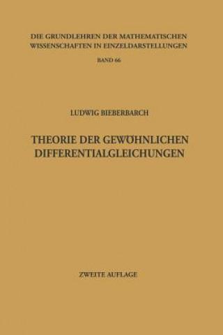 Theorie der Gewöhnlichen Differentialgleichungen, 1