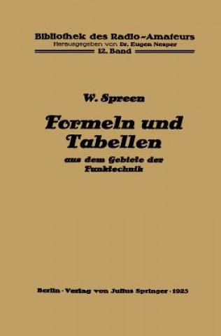 Formeln Und Tabellen Aus Dem Gebiete Der Funktechnik