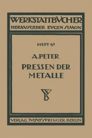 Das Pressen Der Metalle (Nichteisenmetalle)
