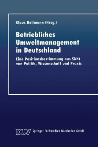 Betriebliches Umweltmanagement in Deutschland