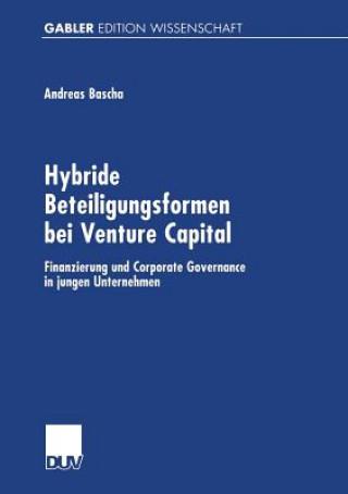 Hybride Beteiligungsformen Bei Venture Capital