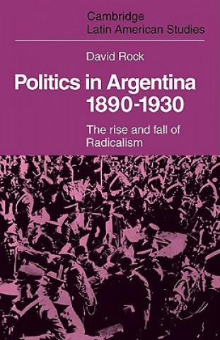 Politics in Argentina, 1890–1930