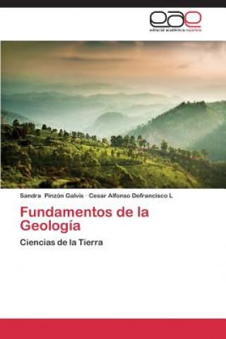 Carte Fundamentos de La Geologia Sandra Pinzón Galvis