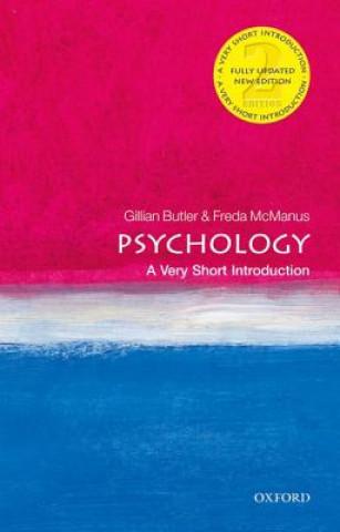 Carte Psychology: A Very Short Introduction Freda McManus