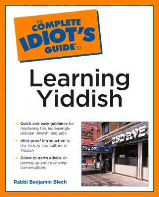 Carte Complete Idiot's Guide to Learning Yiddish Rabbi Blech