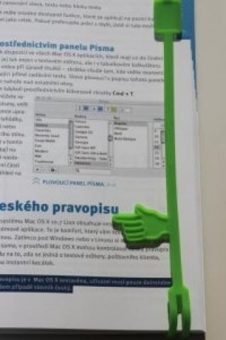 Silikonová záložka do knihy