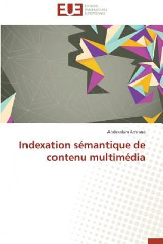 Carte Indexation S mantique de Contenu Multim dia Abdesalam Amrane