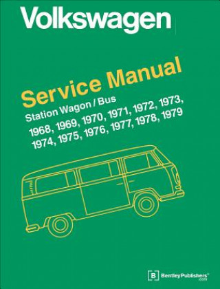 Volkswagen Station Wagon/Bus Official Service Manual Type 2