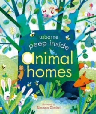Carte Peep Inside Animal Homes Anna Milbourne