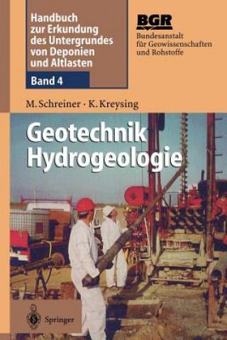 Carte Geotechnik Hydrogeologie Matthias Schreiner