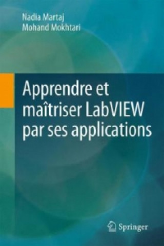 Carte Apprendre et maitriser LabVIEW par ses applications Nadia MARTAJ