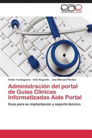 Carte Administracion del portal de Guias Clinicas Informatizadas Aide Portal Ander Iruetaguena