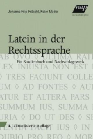 Carte Latein in der Rechtssprache Johanna Filip-Fröschl