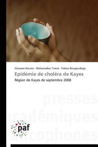 Carte Epidemie de Cholera de Kayes Alassane Kouma