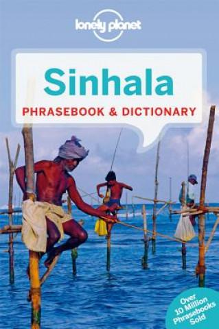 Carte Lonely Planet Sinhala (Sri Lanka) Phrasebook & Dictionary Lonely Planet