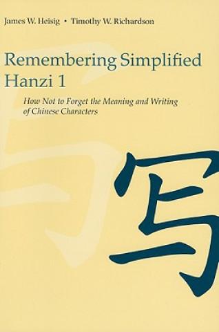 Remembering Simplified Hanzi 1