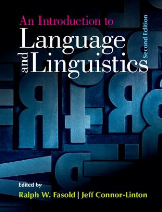 Carte Introduction to Language and Linguistics Ralph W. Fasold