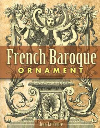 Carte French Baroque Ornament Jean Le Pautre