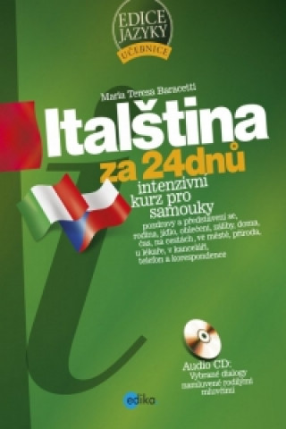 Carte Italština za 24 dnů Maria Teresa Baracetti