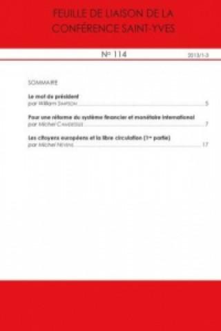 Feuille de liaison de la Conférence Saint-Yves