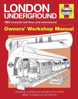 Carte London Underground Owners' Workshop Manual Paul Moss