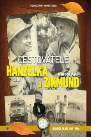 Cestovatelé Hanzelka a  Zikmund - kolekce 9 DVD