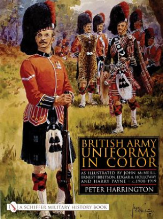 British Army Uniforms in Color