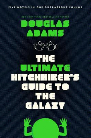 Carte Ultimate Hitchhiker's Guide to the Galaxy Douglas Adams