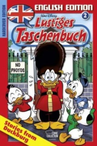 Könyv Lustiges Taschenbuch, English Edition - Stories from Duckburg. Vol.2 Walt Disney
