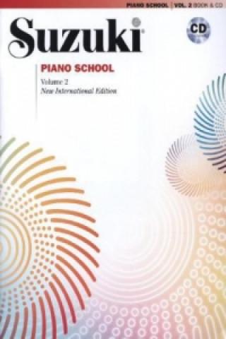 Suzuki Piano School, New International Edition, w. Audio-CD. Vol.2