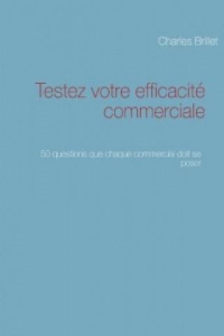 Kniha Testez votre efficacité commerciale Charles Brillet
