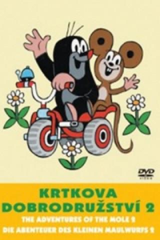 Krtkova dobrodružství 2. - DVD