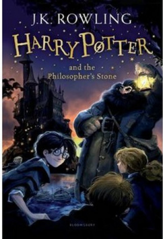Kniha Harry Potter and the Philosopher's Stone Joanne K. Rowling