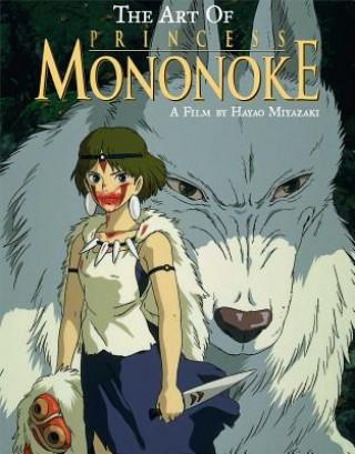 Carte Art of Princess Mononoke Hayao Miyazaki