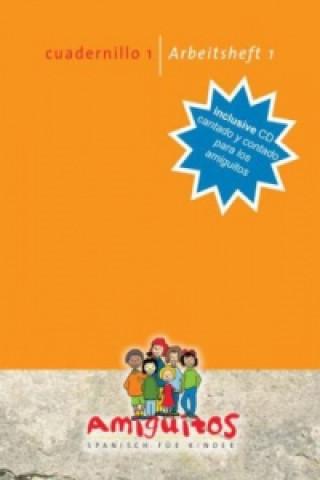 Könyv Amiguitos - cuadernillo 1 - cantado y contado para los amiguitos, m. Audio-CD. Arbeitsheft 1 - Spanisch lernen mit Spaß, m. Audio-CD Claudia von Holten