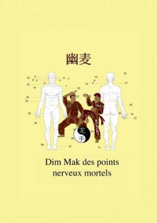 Carte Dim Mak des points nerveux mortels Christian Fruth