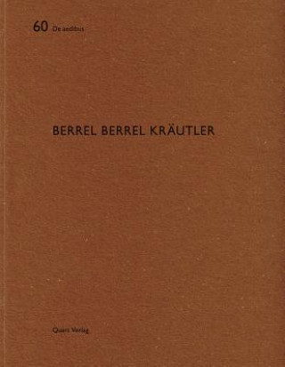 Kniha Berrel Berrel Krautler: De aedibus Hubertus Adam