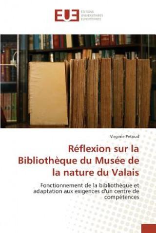 Carte R flexion Sur La Biblioth que Du Mus e de la Nature Du Valais Petoud Virginie