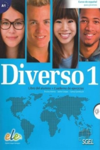 Carte Diverso 1: Student Book with Exercises Encina Alonso