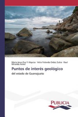 Carte Puntos de Interes Geologico Puy y Alquiza Maria Jesus
