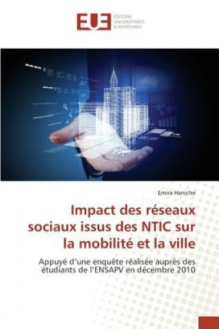 Carte Impact Des R seaux Sociaux Issus Des Ntic Sur La Mobilit  Et La Ville Emira Haniche