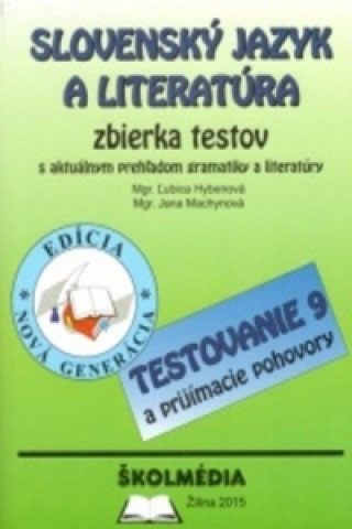 Slovenský jazyk a literatúra - zbierka testov (edícia 2015)