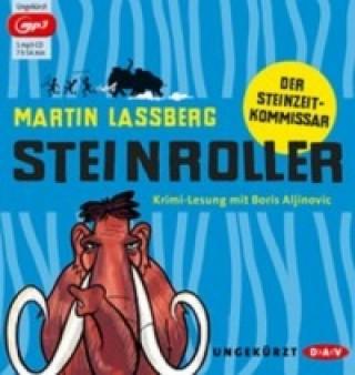 Steinroller - Der Steinzeitkommissar, 1 MP3-CD