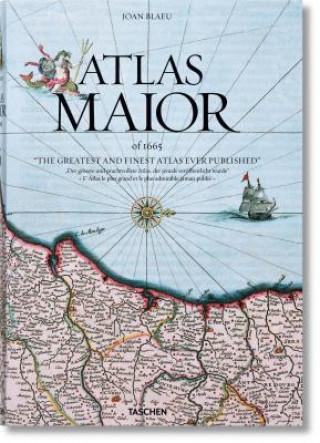 Carte Joan Blaeu. Atlas Maior of 1665 Peter van der Krogt