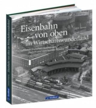 Carte Eisenbahn von oben im Wirtschaftswunderland Andreas Knipping