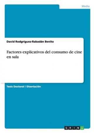 Carte Factores explicativos del consumo de cine en sala David Rodgríguez-Rabadán Benito