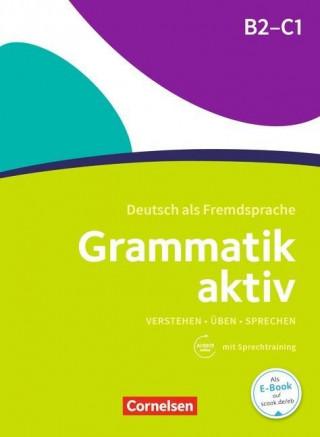 Könyv Grammatik aktiv B2-C1 Jin Friederike; Voß Ute